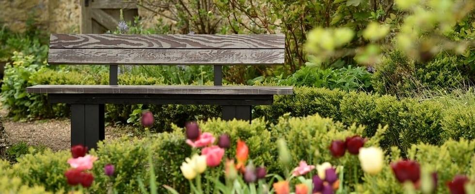 garden bench slider